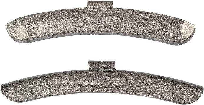 25x 60g Schlaggewichte Stahlfelgen Auswuchtgewichte Wuchtgewichte Gewichte 60 Gramm Auto