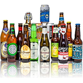 World Craft Beer Case of Mixed Globetrotting Ale, Lager & IPA's Gift Set (15 Pack)