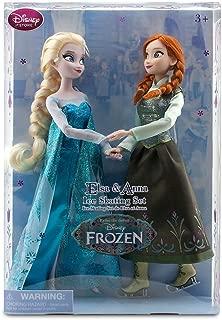 Disney Frozen Princess Elsa & Anna Ice Skating Doll Set 11.5