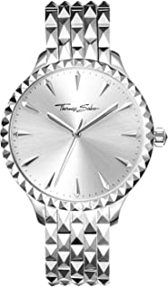 THOMAS SABO Unisex Analogue Mechanical Watch with Stainless Steel Strap WA0318-201-201-38