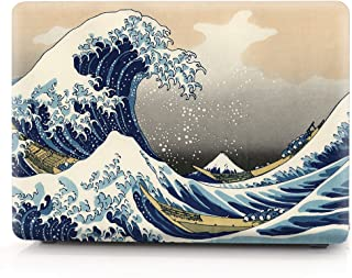 HRH Sea Waves Laptop Body Shell Protective Hard Case for MacBook Air 11