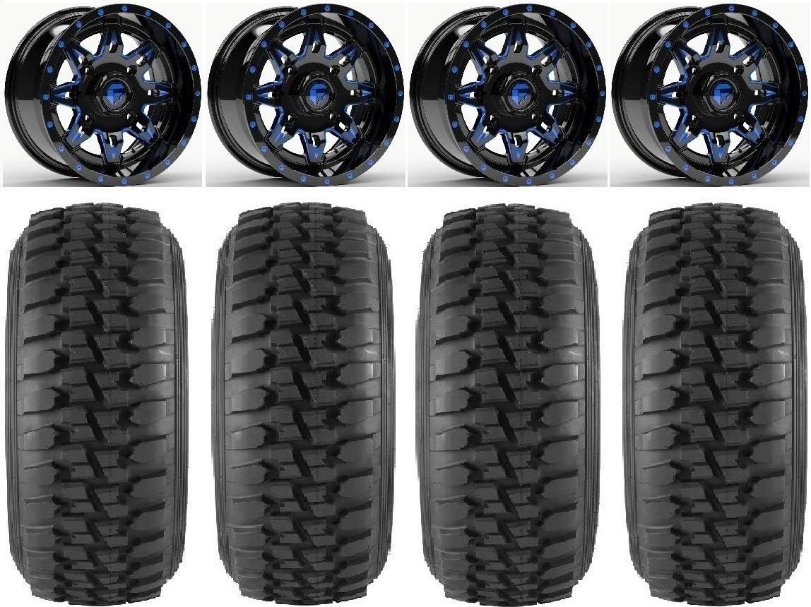 Bundle - 9 Items: Fuel Max 68% OFF Lethal Blue Series Wheels 30