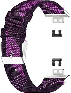 spier Band voor Huawei Watch Fit Smart Watch, vervangende polsband, zacht en ademend, geschikt voor polsen van 14 tot 20 cm.