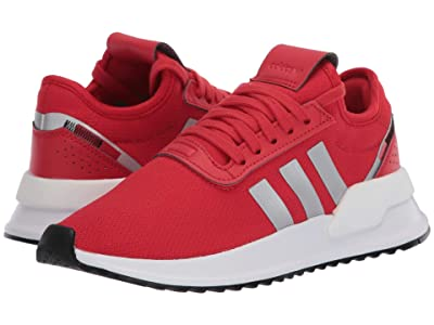 adidas Originals Kids U_Path X (Big Kid) (Lush Red/Silver Metallic/Black) Kids Shoes