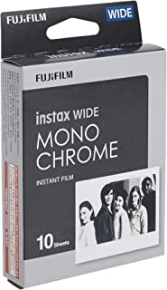 instax mini Film, 10 schot, MONOCHROME, Zwart, WIDE