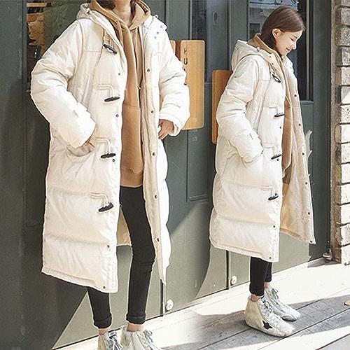 Générique TT Les Les dames d'hiver dans la Longue Section des étudiants Coton vers Le Bas Plume Coton Lache Hiver Veste en Coton épais