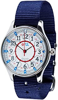 EasyRead Time Teacher Analog Learn The Time Boys Waterproof Watch Navy #WERW-RB-24-NB