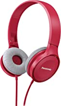 PANASONIC Lightweight Headphones with Microphone, Call Controller and 3.9 ft Audio Cord Compatible with iPhone, BlackBerry...