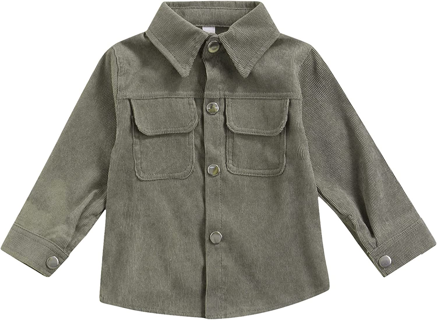 1-6T New Free Shipping Toddler Boy Girl Corduroy Jacket Button Down outlet Coat Outwear S