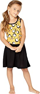 Intimo Big Girls' Adventure Time Roller Derby Jake Pajamas