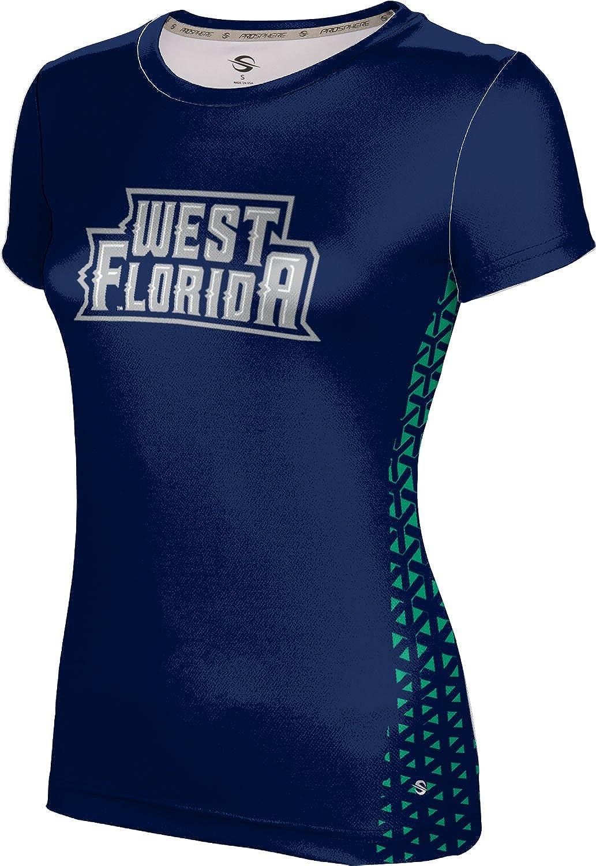 ProSphere University of West Florida Girls' Performance T-Shirt (Geo)
