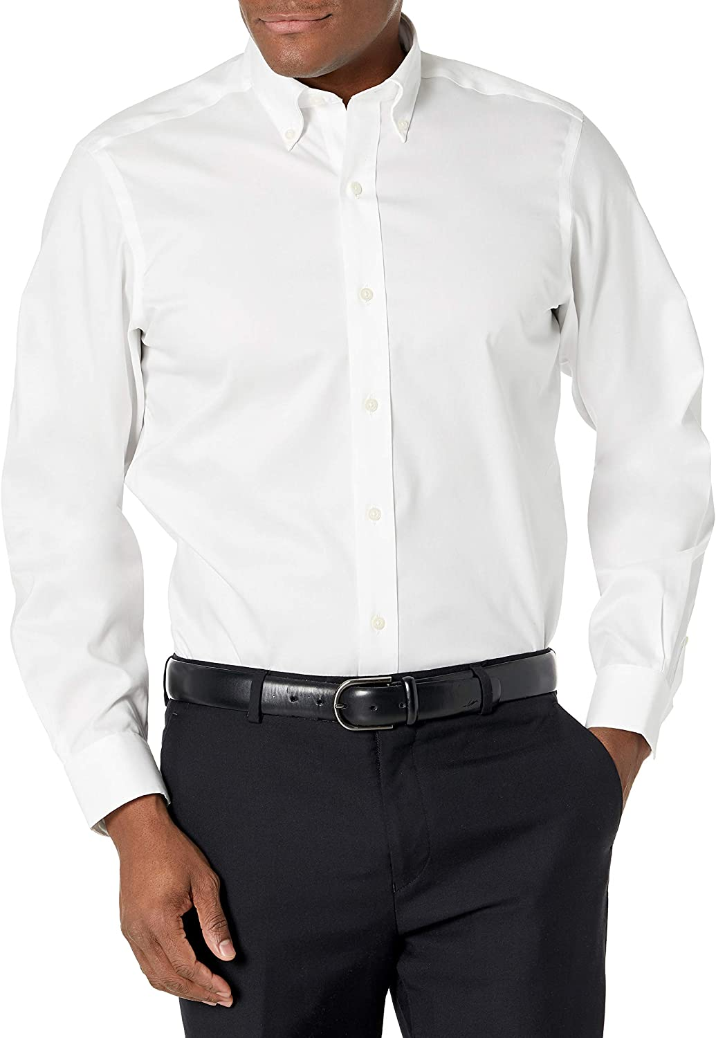 Buttoned Down Men's Standard Classic Fit San Jose Mall Omaha Mall Solid Button Non Collar