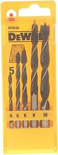 Set de 10 Piezas Bronce Dewalt DT5538-QZ Broca para metal Extreme 2 2.5x57mm