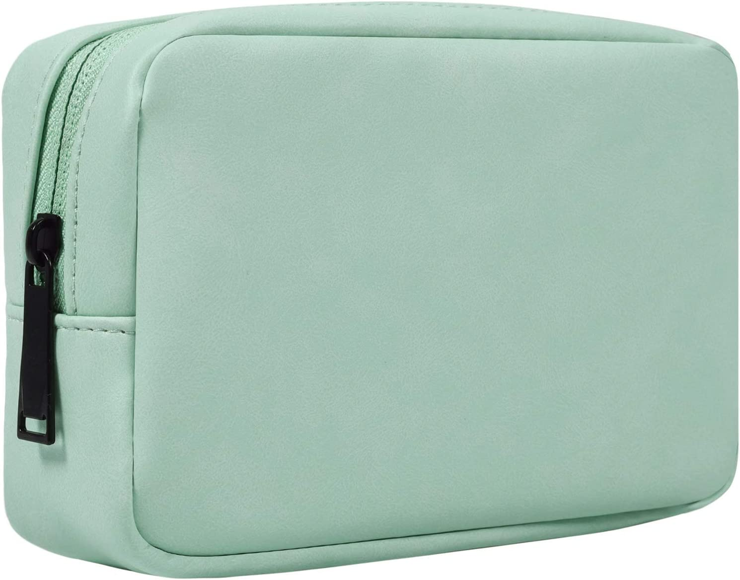 Electronics Organizer Travel Case, Electronics Accessories Cable Carrying Bag, Accessories Bag Organizer Power Bank Case for Hard Drives Cables Charger SD Memory Cards Earphone Pen – Mint Green