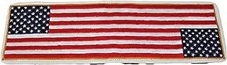 Sunfish Leather Golf Scorecard and Yardage Book Holder Team America USA Flag