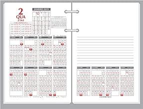 Refil Calendário Financeiro, Redoma, R360, Cinza