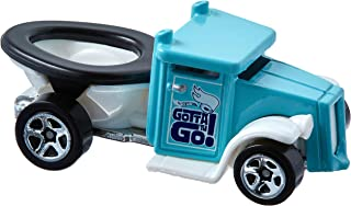 Hot Wheels 2017 Experimotors Gotta Go (Toilet Car) 101/365, Turquoise