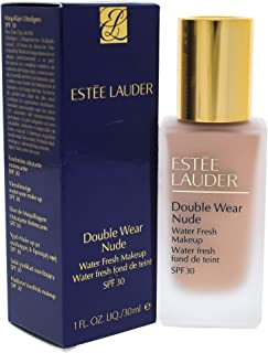 Estee Lauder Double Wear Nude Water Fresh Makeup Foundation with SPF 30, 2c2 Pale Almond, 30 ml (887167332058)