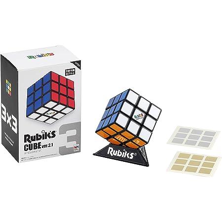 【《特典》金&銀シール付】ルービックキューブ 3×3 Ver.2.1【公式ライセンス商品】
