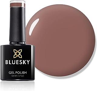 Bluesky Gel Nail Polish, Satin Nightie 80563, Beige, Light, Salmon,Tan Long Lasting, Chip Resistant, 10 ml (Requires Dryin...