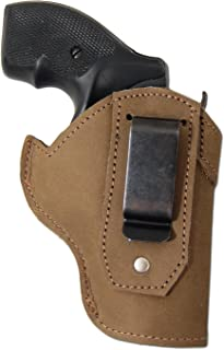 Barsony New Olive Drab Leather IWB Holster for 2
