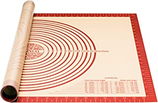 Silicone Baking Mat for Pastry Rolling with Measurements,Large 28