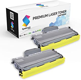 Spektrum Toner Compatible Cartridge Replacement (2-Pack) for Brother TN-330 High Yield (Black) TN330 / TN360