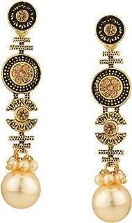 Best pearl drop earrings india Reviews