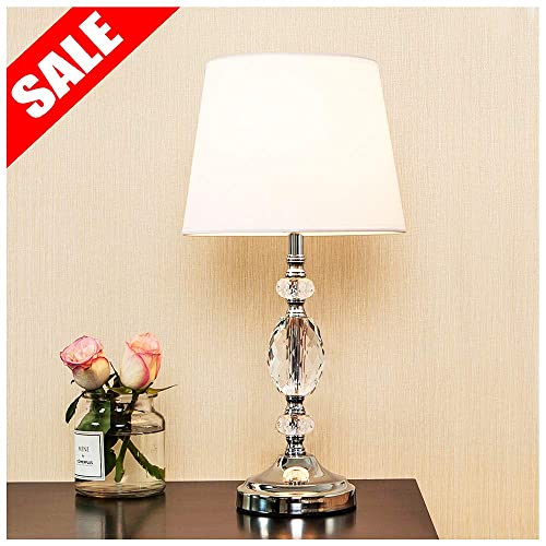 White Bedroom Lamps: Amazon.com