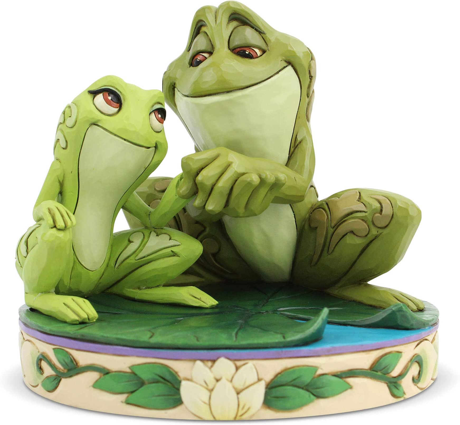 Disney Jim Shore 2019 Princess and the Frog TIANA /& NAVEEN as Frogs Figurine