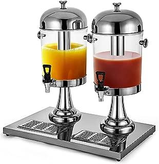 VBENLEM 16L/4.2 Gallon Milk Juice Cold Drink Dispenser Parties Restaurants Hotels Buffets