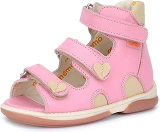 Memo Atena High-Top Ankle Support Orthopedic Corrective AFO Sandal (Toddler Girl/Little Girl)