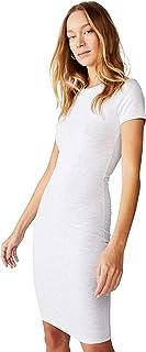 Cotton On Women's Dress, Light Grey Marle