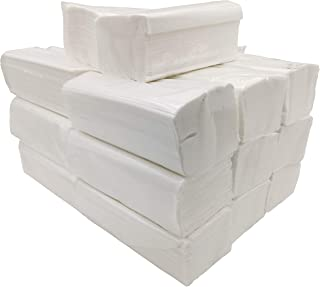 Toalla Papel Secamanos Tissue zig zag, laminadas doble capa, caja 3000 unidades