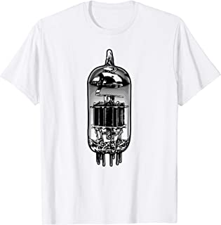 Vacuum Tube Vintage Analog Amplifier, Guitar, Valve Amp T-Shirt