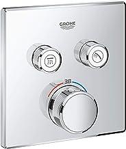 GROHE Grohtherm SmartControl 29124000 Thermostaat met 2 afsluitkleppen, Kant-en-Klaar Montageset, incl. Veiligheidsvergren...