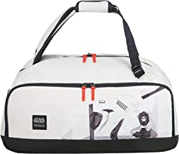American Tourister Grab'N'Go Disney - Bolsa de Viaje/Mochila, 54 cm, 49 L, Blanco (Stormtrooper Geometric)