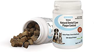 Vetnex Dental Care Plaque Control Dental Chews for Dogs & Cats 100 Soft Chews