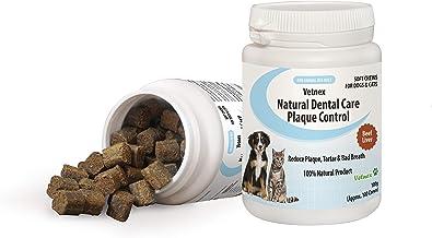 Vetnex Dental Care Plaque Control Dental Chews for Dogs & Cats 100 Soft Chews