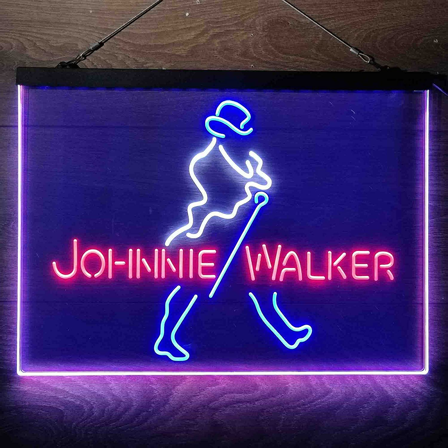 UNIEVE Johnnie Walker Colorful Direct sale of manufacturer LED Ranking TOP8 Neon Man Whit Light Cave Sign