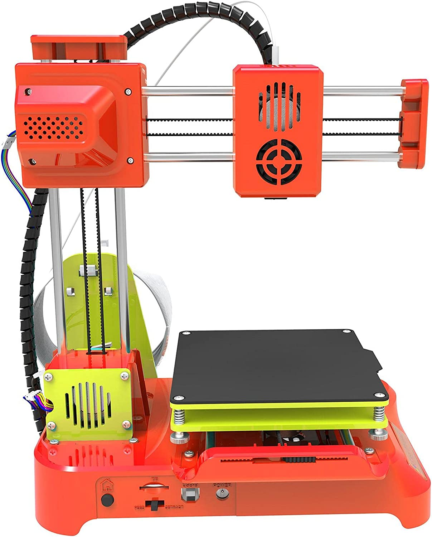 3D printer, Easythreed K7 Desktop Mini Printing Size for Windows XP/7/8/10 Kids Student Education Stl Printer Recognition Format 100x100x100mm(U.S. regulations)