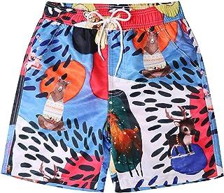 5a28ee6782 VonVonCo Men's Shorts Swim Trunks Quick Dry Beach Surfing Running Swimming  Watershort ...