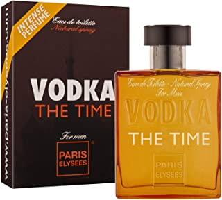 VODKA The Time Perfume para hombre Paris Elysees vaporizador 100 ml