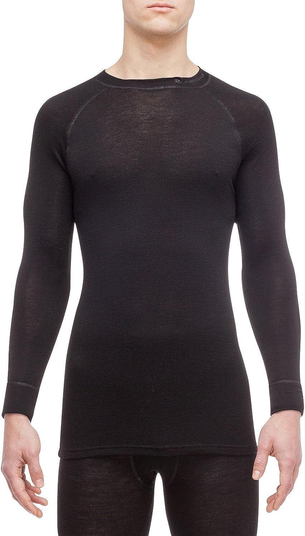 Thermowave Merino Warm//Mens 100/% Merino Wool 180GSM Thermal Underwear Shirt