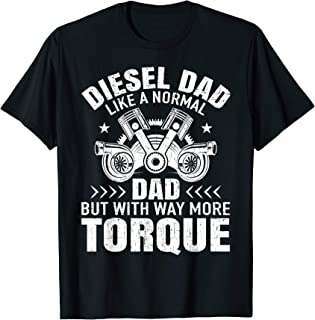 Diesel Mechanic Dad Automobile Fathers Day Funny Gift design T-Shirt