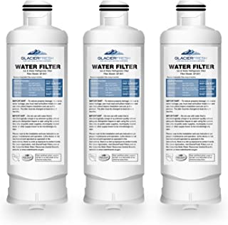 GLACIER FRESH DA97-17376B Water Filter for Samsung Refrigerator, Compatible with Samsung Water Filter DA97-17376B, DA97-08006C, HAF-QIN, HAF-QIN/EXP, rf23m8070sr (3 Packs)