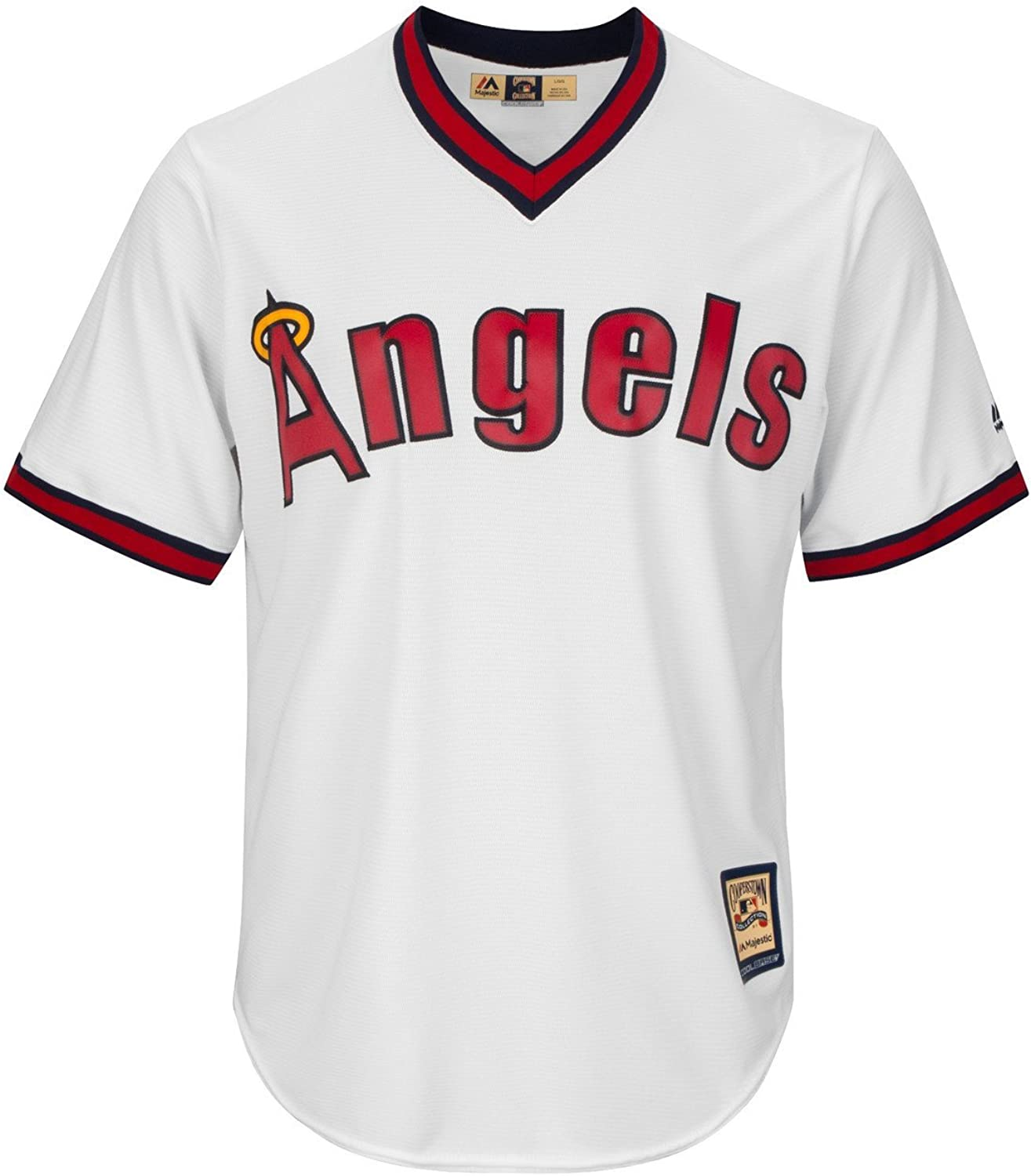 Majestic Cooperstown Cool Base JerseyLos Angeles Angels