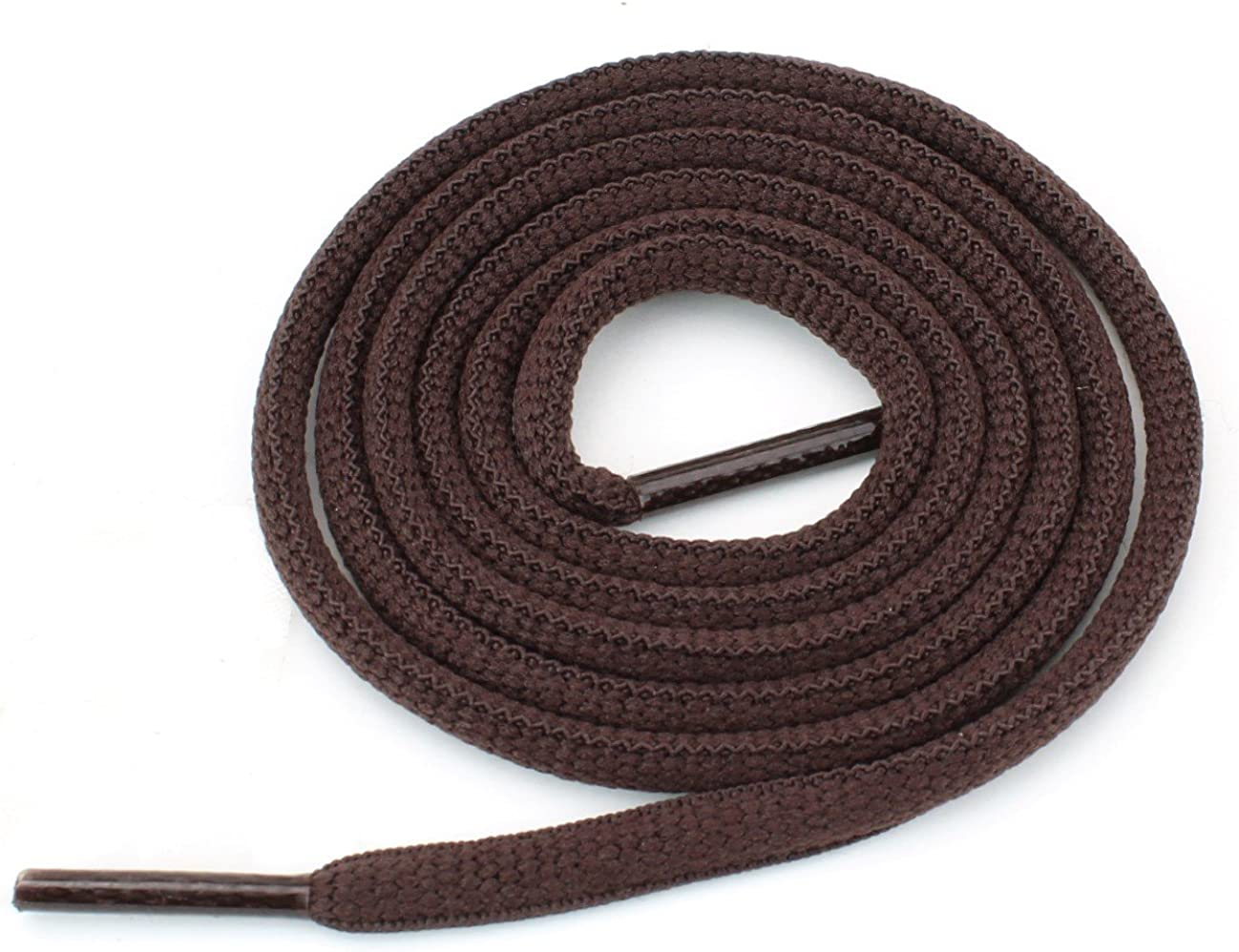 """Oval Athletic Shoelaces 1/4"""" Thick Solid Colors for All Shoes Several Lengths Strings : Clothing, Shoes & Jewelry"""