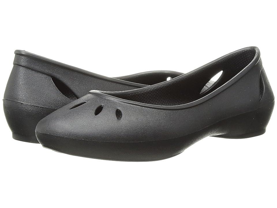 Crocs Kelli Flat (Black) Women