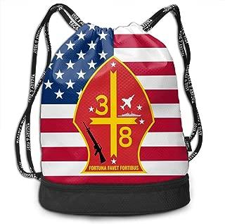 3rd Battalion 8th Marine Regiment Bundle Backpack Funny Gym Bag
